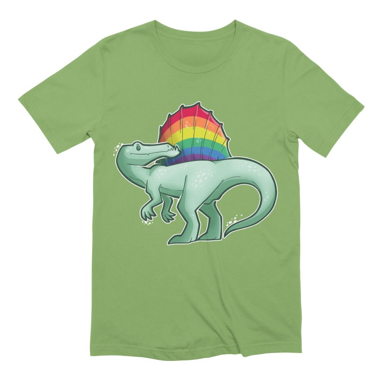 Spinosaurus Pride Men's Extra Soft T-Shirt by Marty's Artist Shop