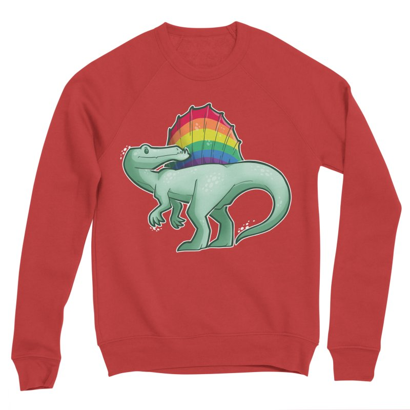 Spinosaurus Pride Women's Sponge Fleece Sweatshirt by Marty's Artist Shop