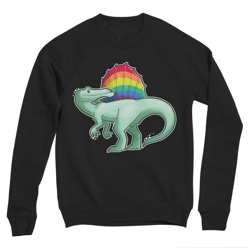 Spinosaurus Pride Women's Sponge Fleece Sweatshirt by Marty's Artist Shop