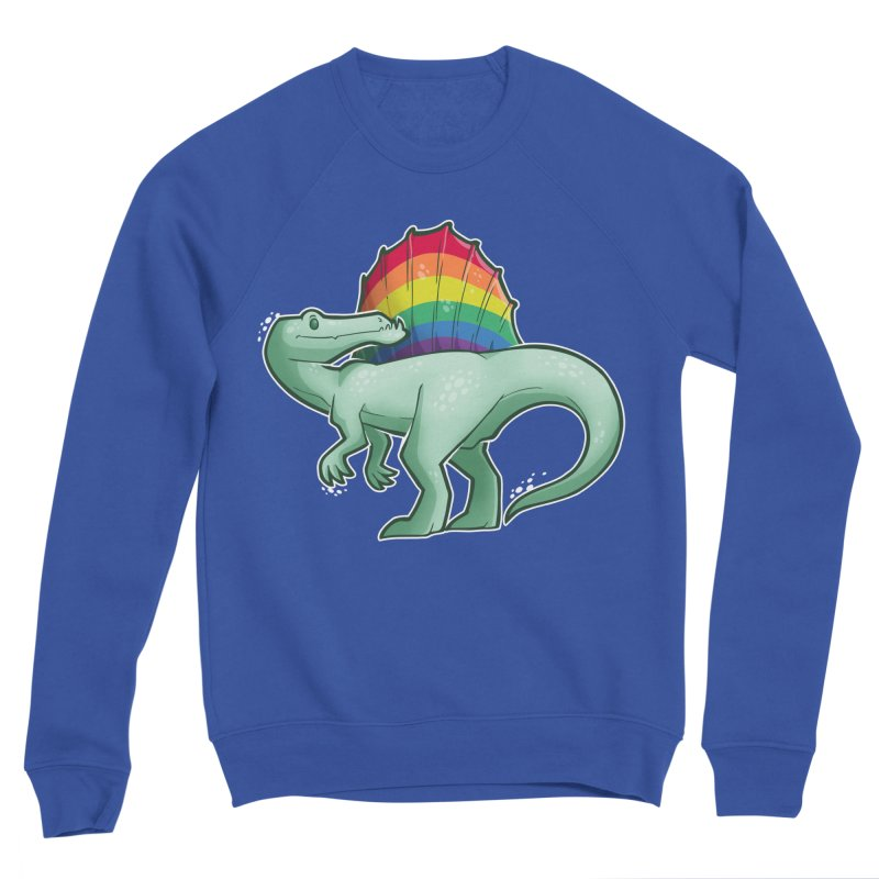 Spinosaurus Pride Women's Sweatshirt by Marty's Artist Shop