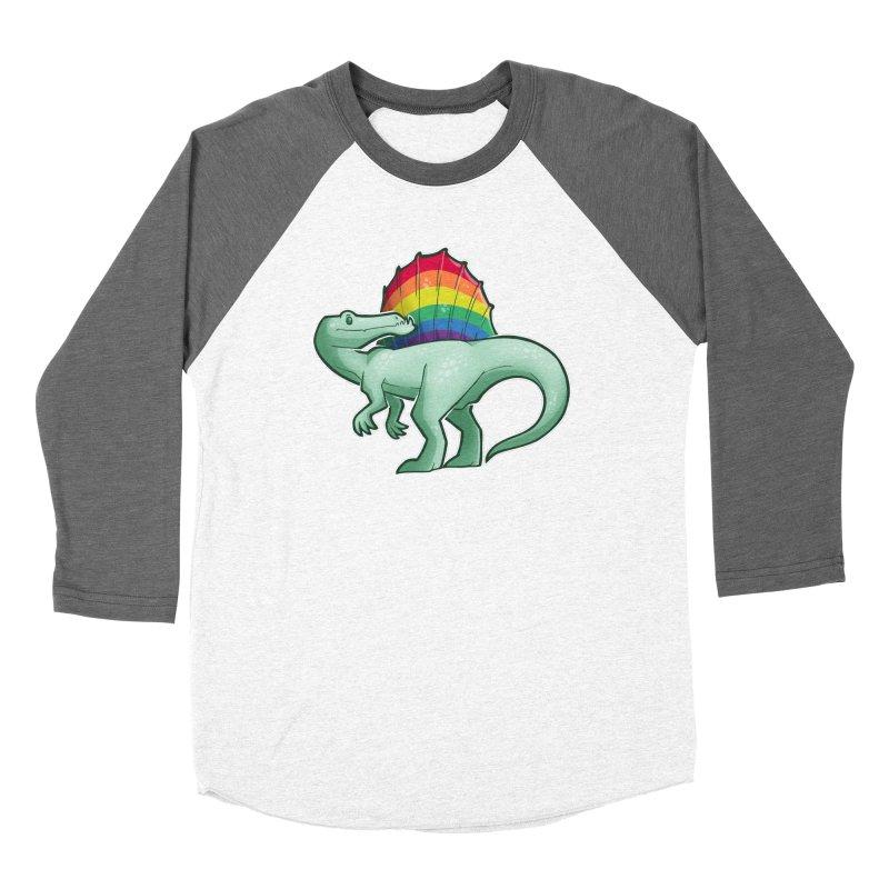 Spinosaurus Pride Women's Longsleeve T-Shirt by Marty's Artist Shop