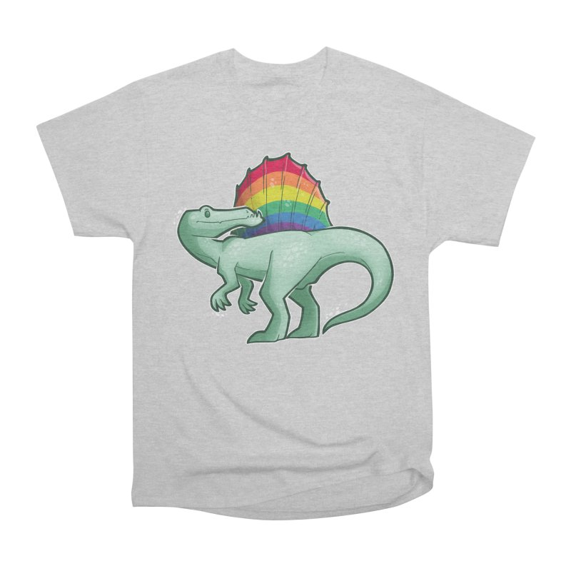 Spinosaurus Pride Women's Heavyweight Unisex T-Shirt by Marty's Artist Shop