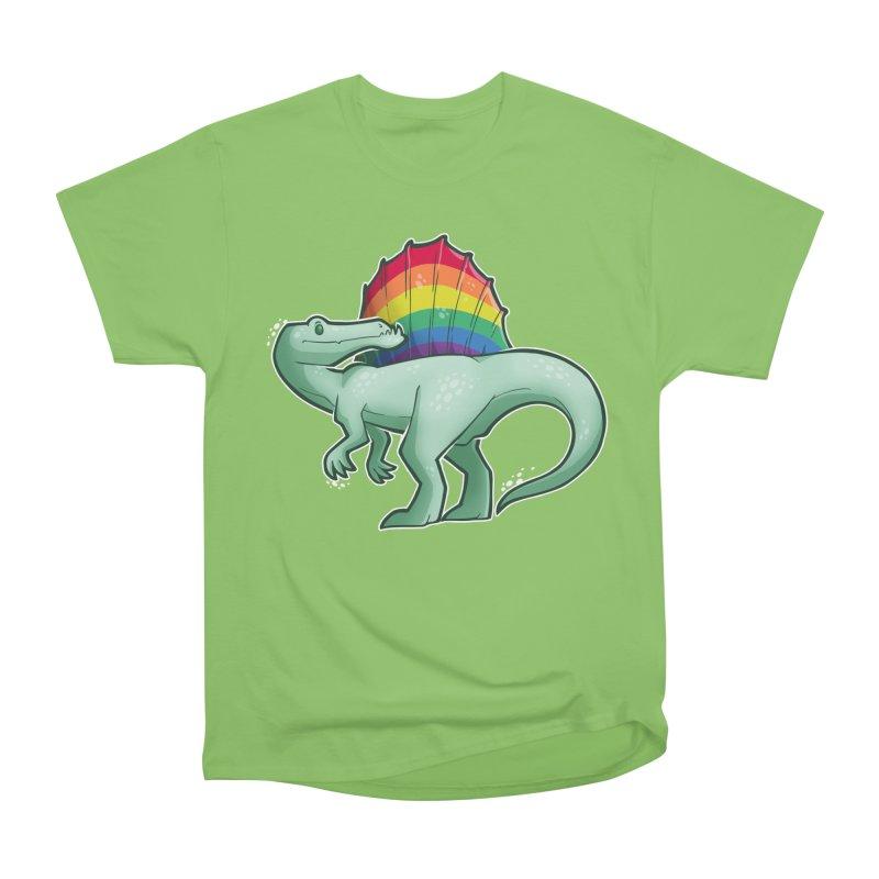 Spinosaurus Pride Men's Heavyweight T-Shirt by Marty's Artist Shop