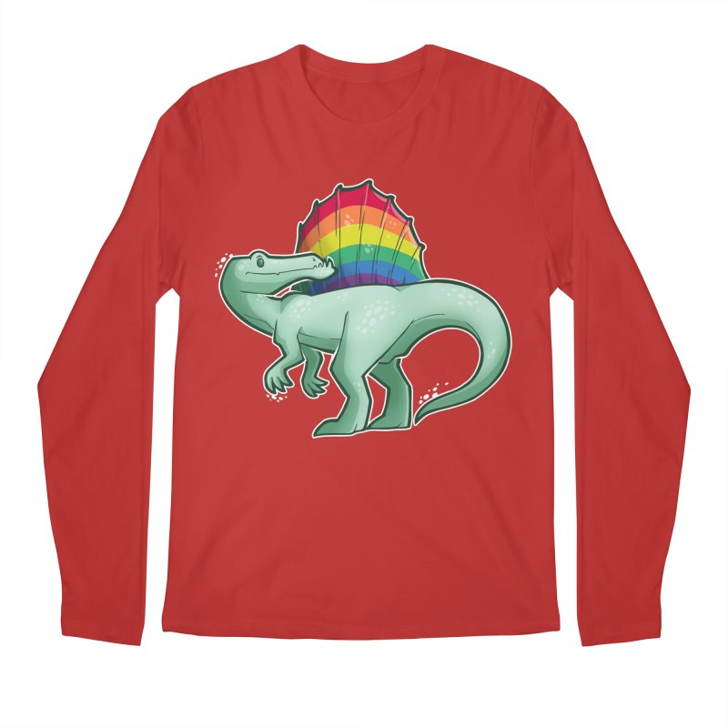 Spinosaurus Pride Men's Regular Longsleeve T-Shirt by Marty's Artist Shop