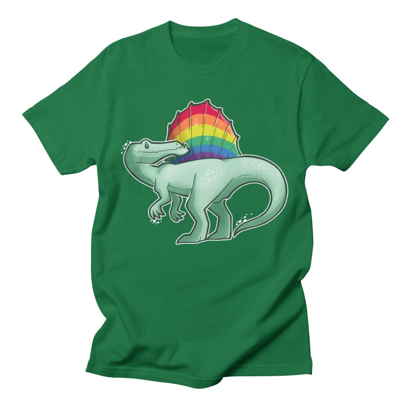 Spinosaurus Pride Men's T-Shirt by Marty's Artist Shop