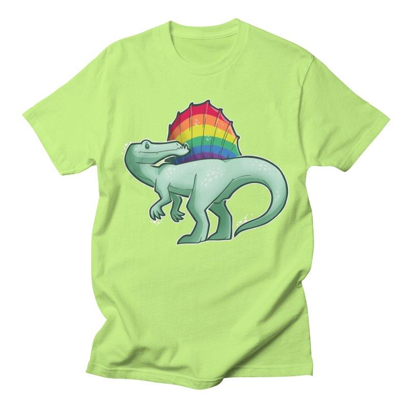 Spinosaurus Pride Men's Regular T-Shirt by Marty's Artist Shop