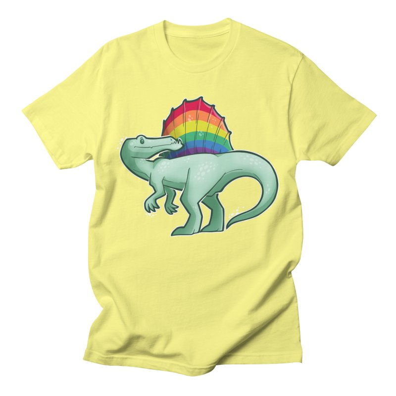Spinosaurus Pride Women's Regular Unisex T-Shirt by Marty's Artist Shop