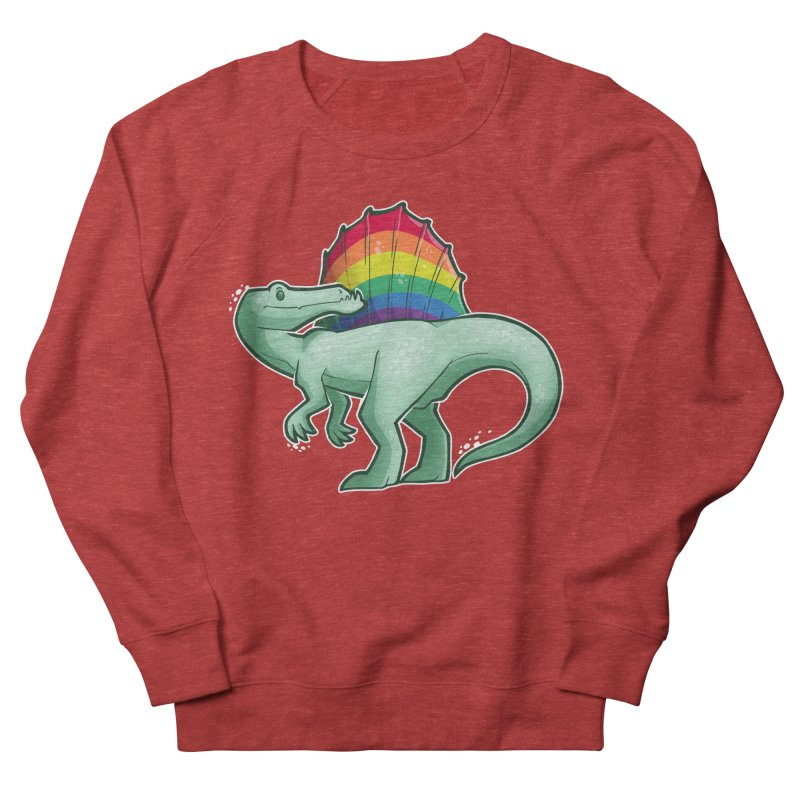 Spinosaurus Pride Women's French Terry Sweatshirt by Marty's Artist Shop