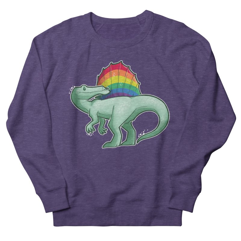 Spinosaurus Pride Men's French Terry Sweatshirt by Marty's Artist Shop