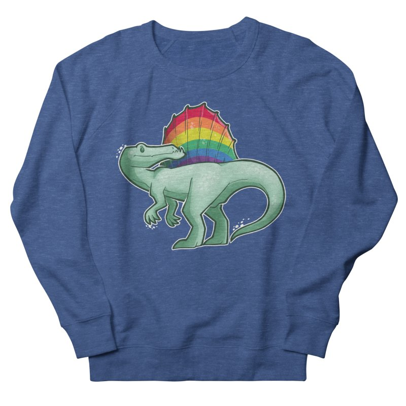 Spinosaurus Pride Men's Sweatshirt by Marty's Artist Shop