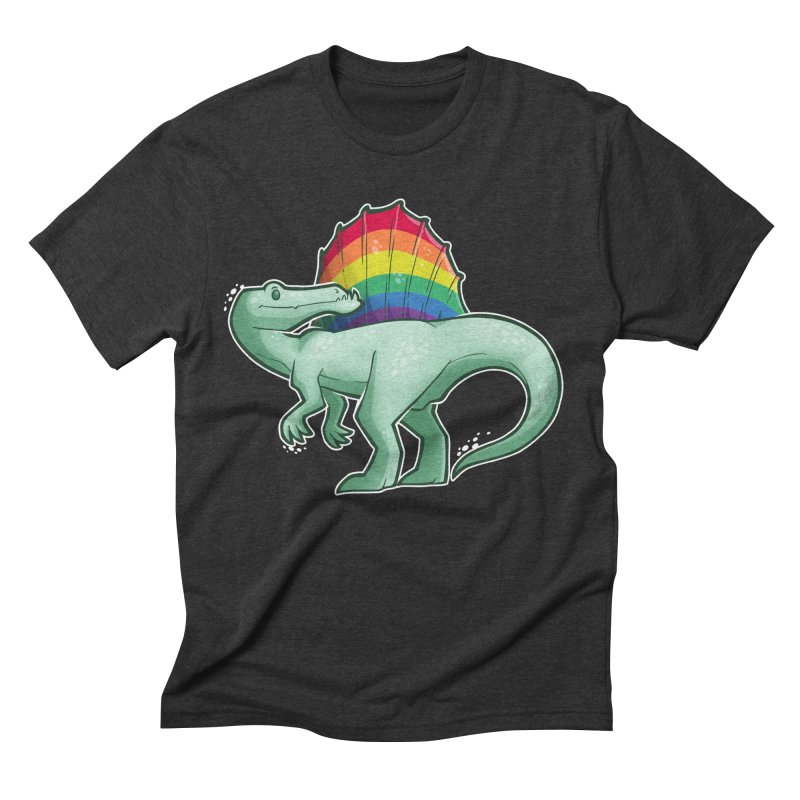 Spinosaurus Pride Men's Triblend T-Shirt by Marty's Artist Shop