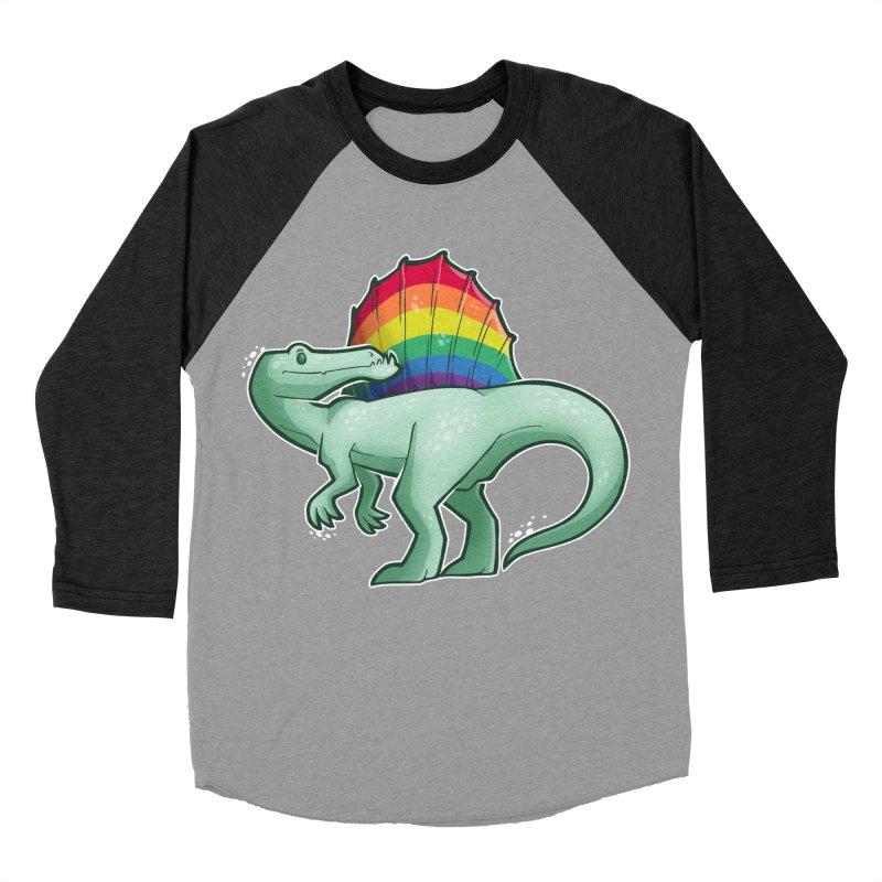 Spinosaurus Pride Women's Baseball Triblend Longsleeve T-Shirt by Marty's Artist Shop