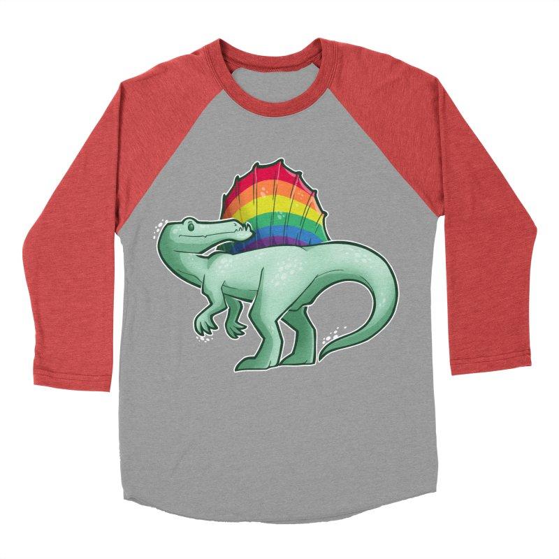 Spinosaurus Pride Men's Baseball Triblend Longsleeve T-Shirt by Marty's Artist Shop