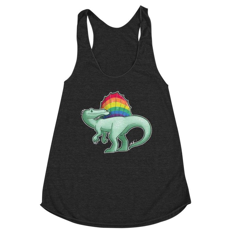 Spinosaurus Pride Women's Tank by Marty's Artist Shop