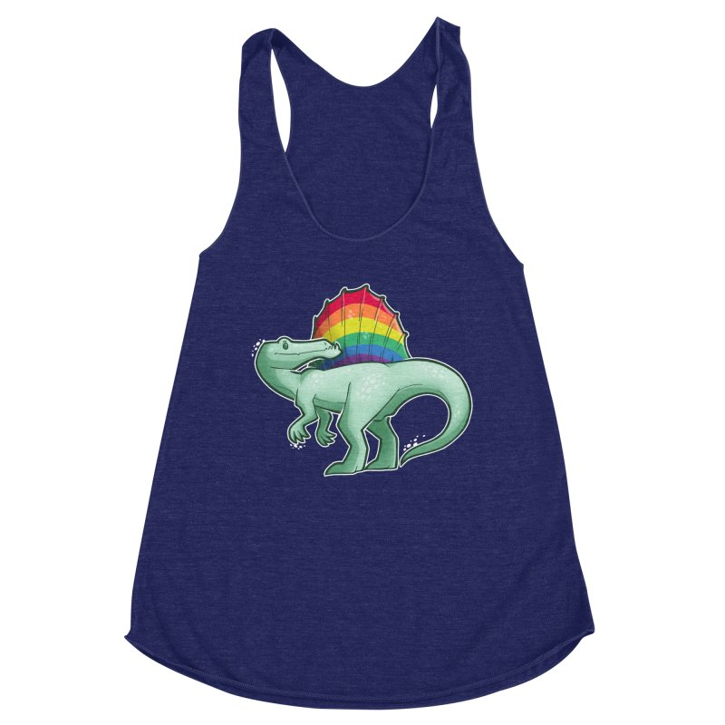 Spinosaurus Pride Women's Tank by Marty's Artist Shop