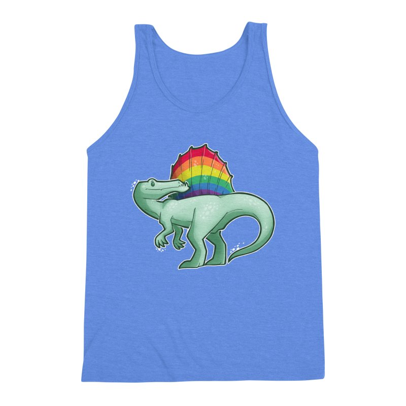 Spinosaurus Pride Men's Tank by Marty's Artist Shop