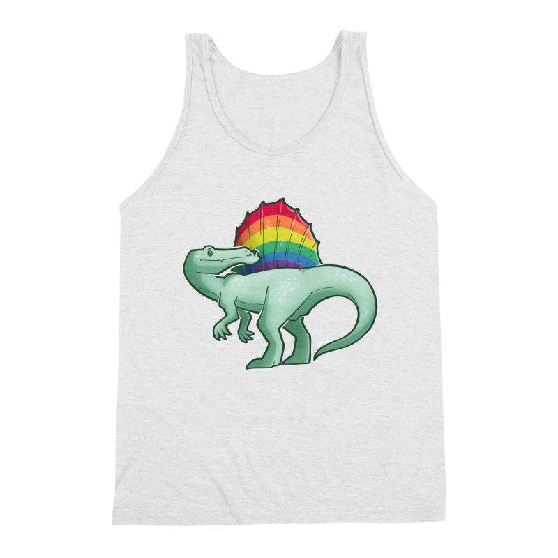 Spinosaurus Pride Men's Tank by Marty's Artist Shop