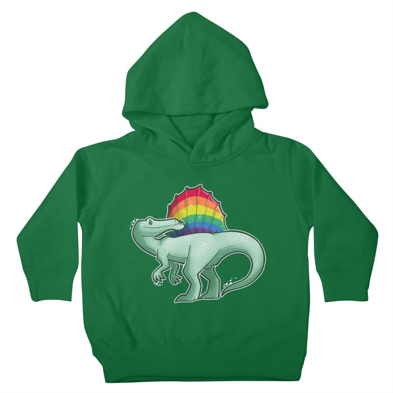 Spinosaurus Pride Kids Toddler Pullover Hoody by Marty's Artist Shop