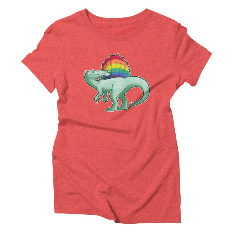 Spinosaurus Pride Women's Triblend T-Shirt by Marty's Artist Shop
