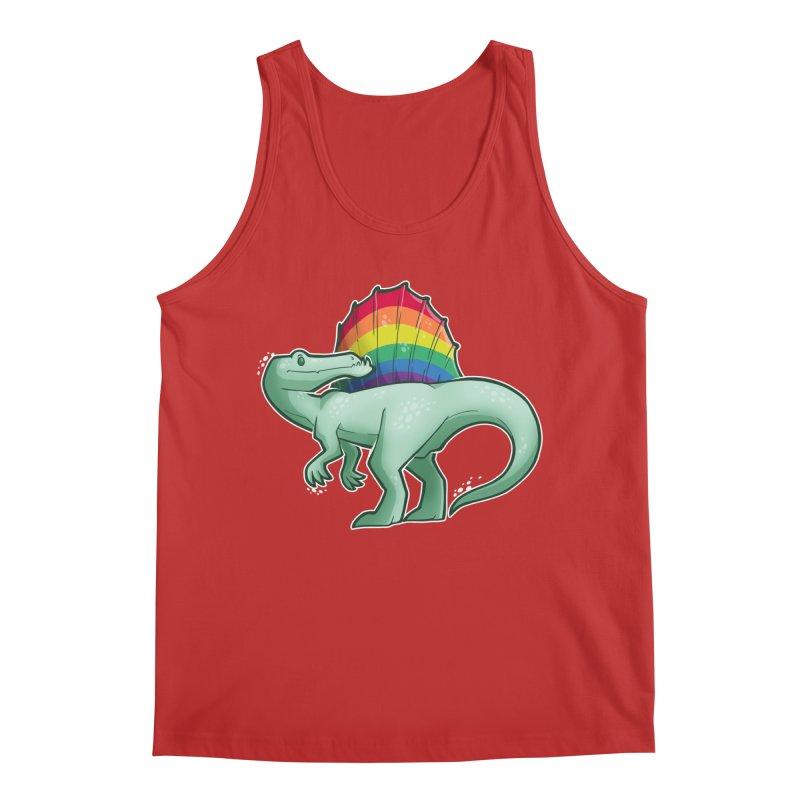 Spinosaurus Pride Men's Regular Tank by Marty's Artist Shop