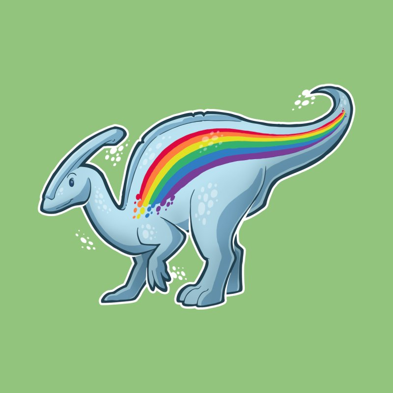 Prideasaurolophus Women's Sweatshirt by Marty's Artist Shop