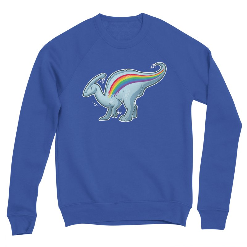 Prideasaurolophus Men's Sweatshirt by Marty's Artist Shop
