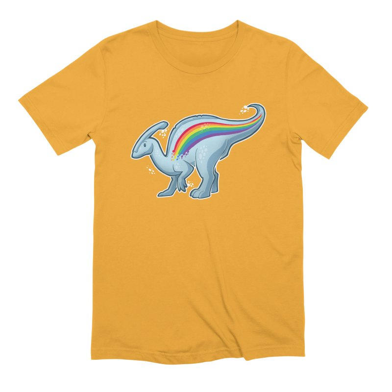 Prideasaurolophus Men's T-Shirt by Marty's Artist Shop