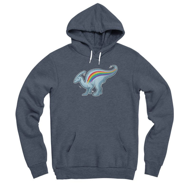 Prideasaurolophus Women's Pullover Hoody by Marty's Artist Shop