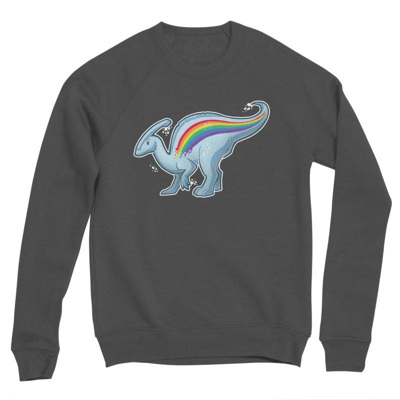 Prideasaurolophus Women's Sponge Fleece Sweatshirt by Marty's Artist Shop