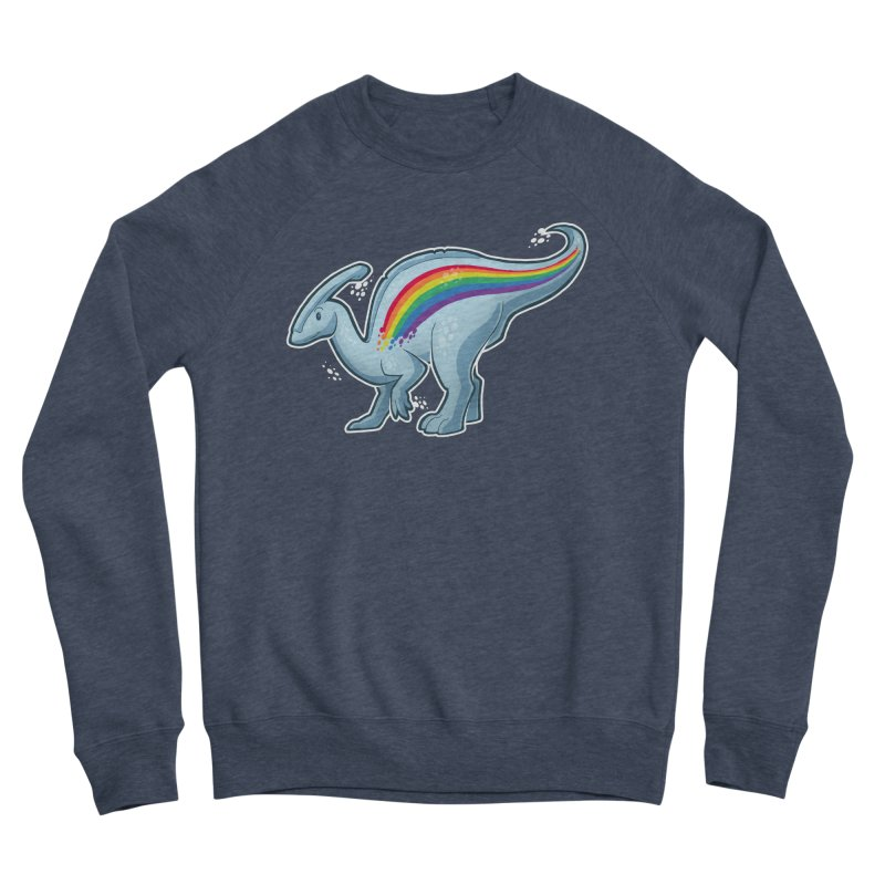Prideasaurolophus Men's Sweatshirt by Marty's Artist Shop