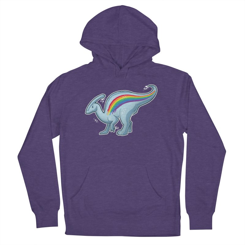 Prideasaurolophus Women's French Terry Pullover Hoody by Marty's Artist Shop