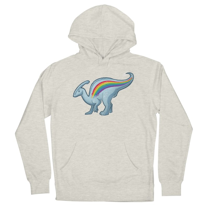 Prideasaurolophus Men's French Terry Pullover Hoody by Marty's Artist Shop