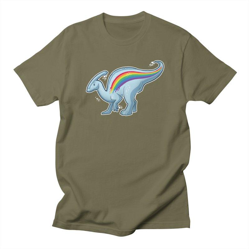Prideasaurolophus Men's T-Shirt by Marty's Artist Shop