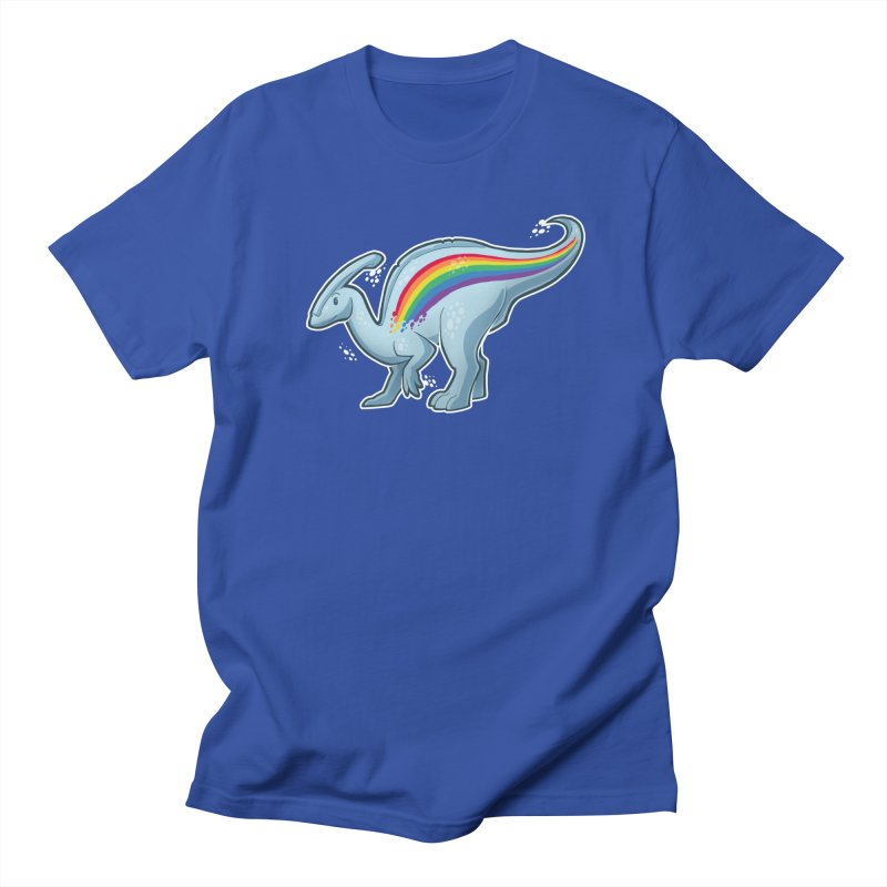 Prideasaurolophus Men's Regular T-Shirt by Marty's Artist Shop