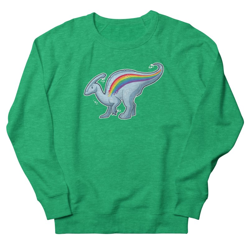 Prideasaurolophus Women's French Terry Sweatshirt by Marty's Artist Shop