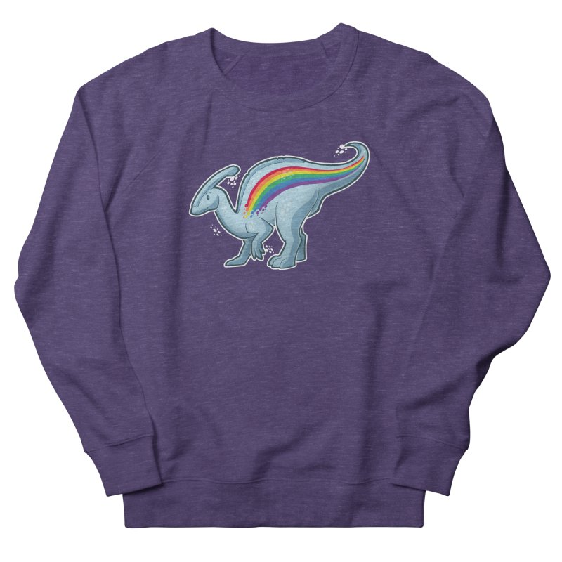 Prideasaurolophus Women's Sweatshirt by Marty's Artist Shop