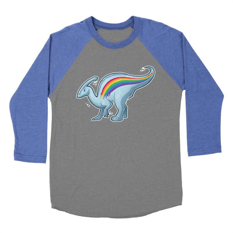 Prideasaurolophus Women's Baseball Triblend Longsleeve T-Shirt by Marty's Artist Shop