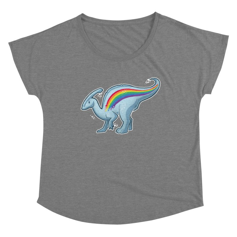 Prideasaurolophus Women's Scoop Neck by Marty's Artist Shop