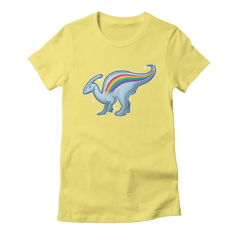 Prideasaurolophus Women's T-Shirt by Marty's Artist Shop