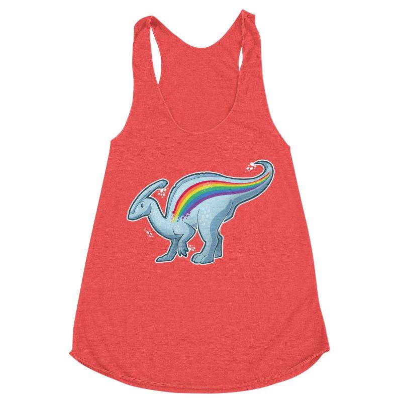 Prideasaurolophus Women's Tank by Marty's Artist Shop