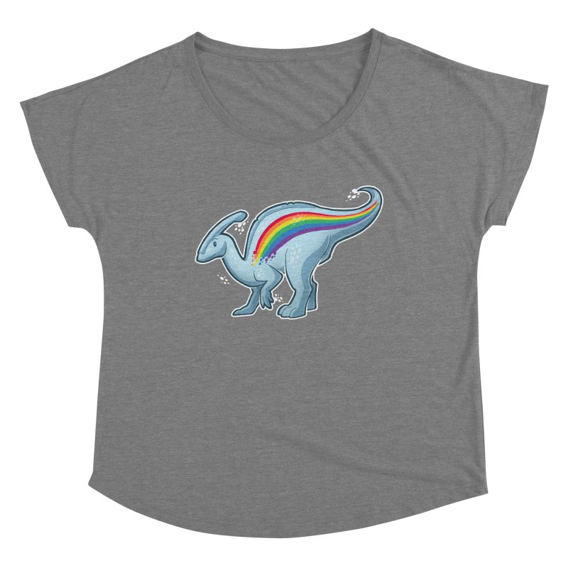 Prideasaurolophus Women's Scoop Neck by Marty's Artist Shop
