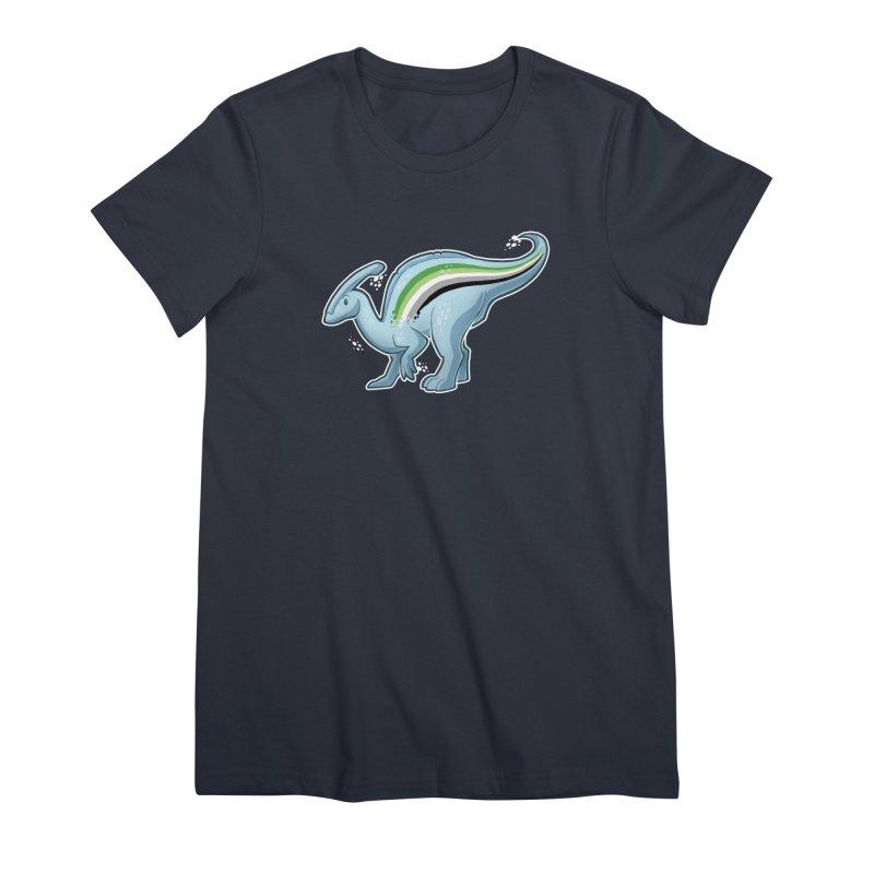 pAROsaurolophus Women's Premium T-Shirt by Marty's Artist Shop