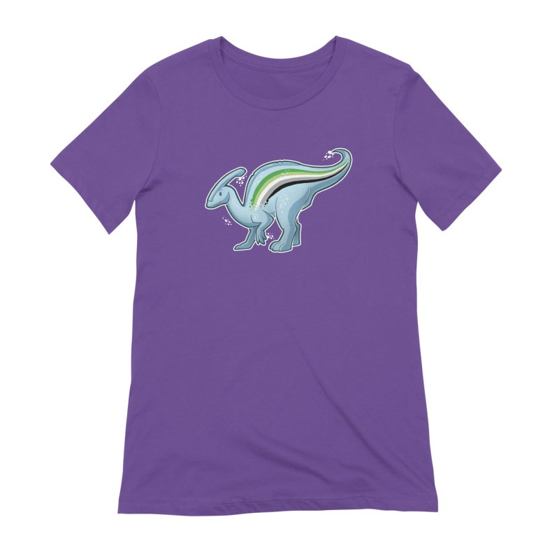pAROsaurolophus Women's Extra Soft T-Shirt by Marty's Artist Shop