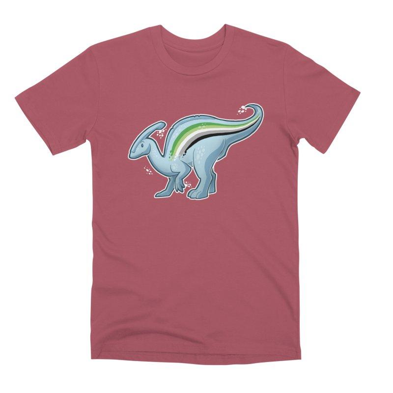 pAROsaurolophus Men's Premium T-Shirt by Marty's Artist Shop