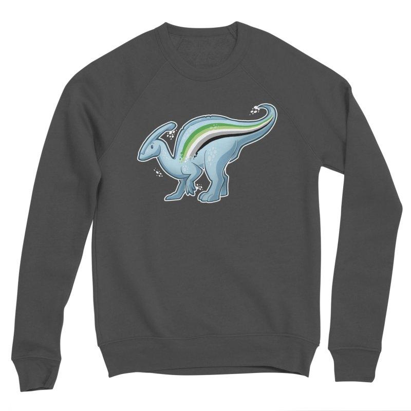 pAROsaurolophus Women's Sponge Fleece Sweatshirt by Marty's Artist Shop