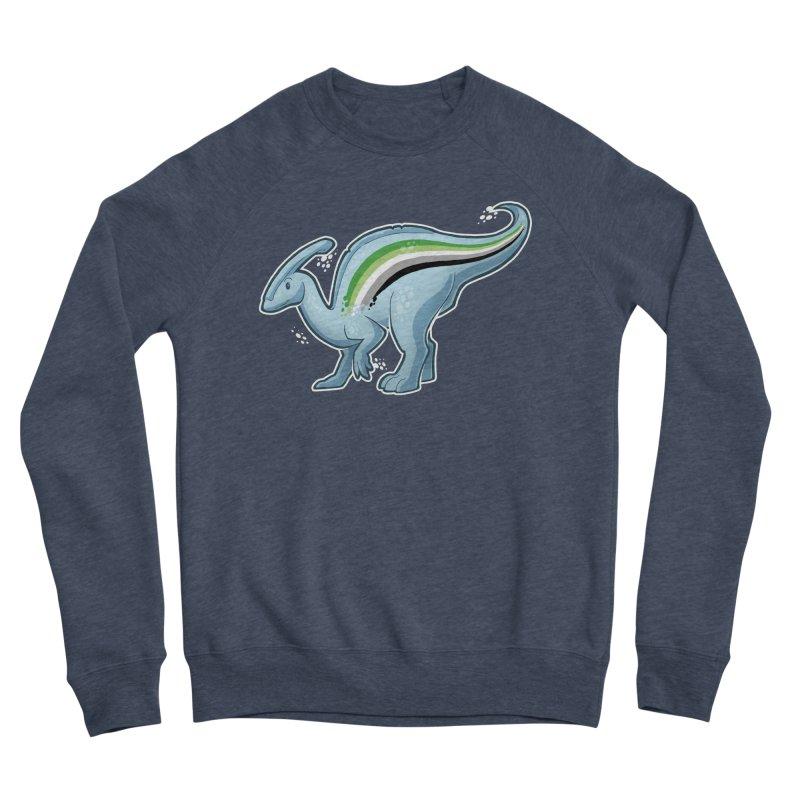 pAROsaurolophus Men's Sponge Fleece Sweatshirt by Marty's Artist Shop
