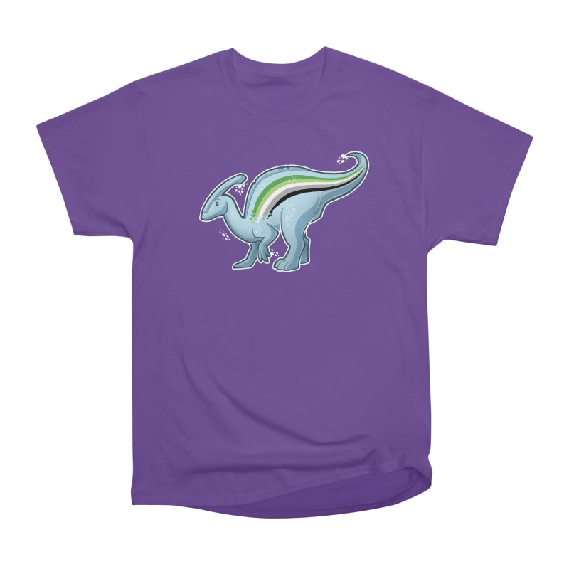 pAROsaurolophus Women's Heavyweight Unisex T-Shirt by Marty's Artist Shop