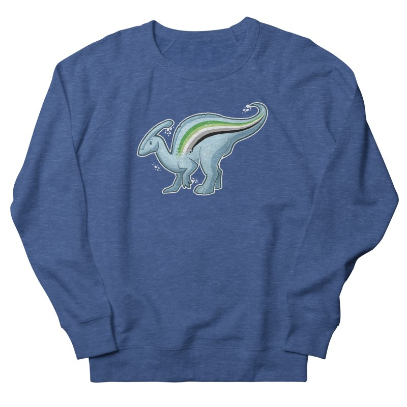 pAROsaurolophus Women's French Terry Sweatshirt by Marty's Artist Shop