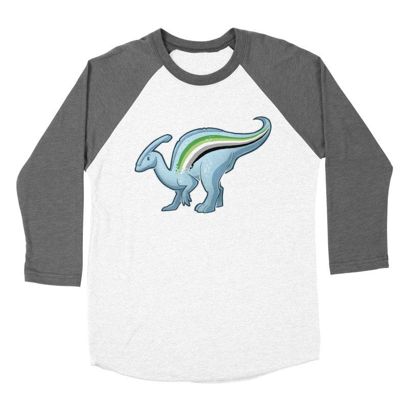 pAROsaurolophus Women's Baseball Triblend Longsleeve T-Shirt by Marty's Artist Shop