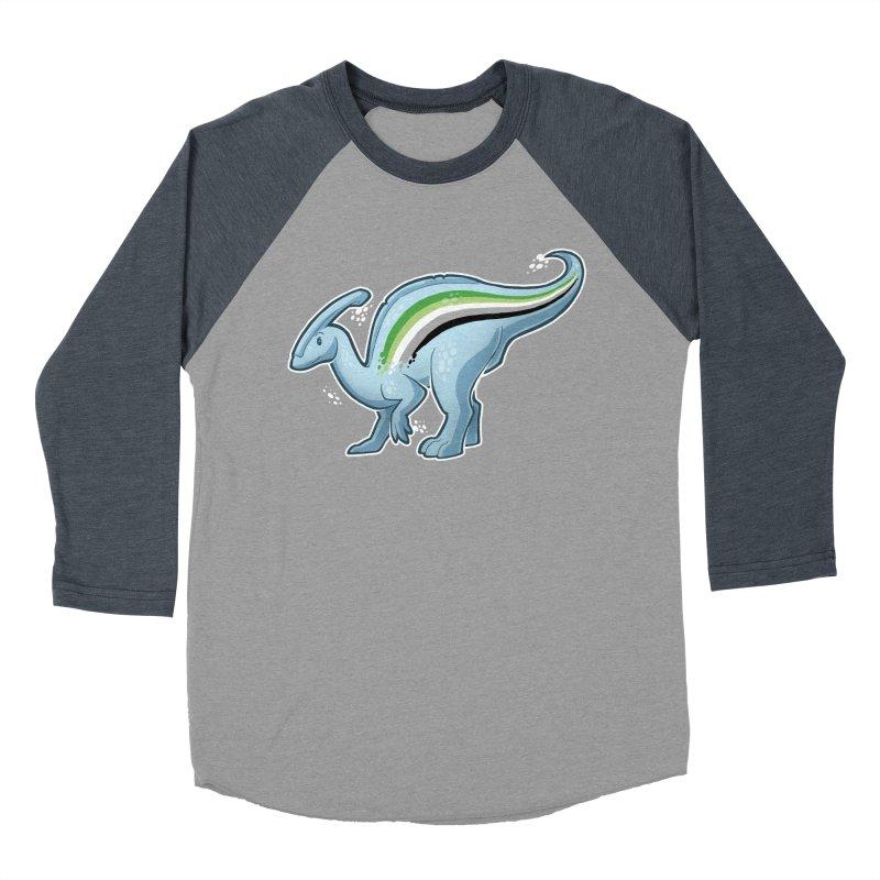 pAROsaurolophus Men's Baseball Triblend Longsleeve T-Shirt by Marty's Artist Shop